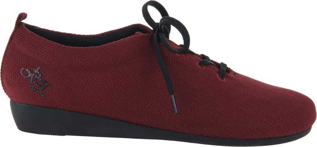 Women's OTBT Wilna Wedge Shoe, Grape Fabric Knit, large, image 2