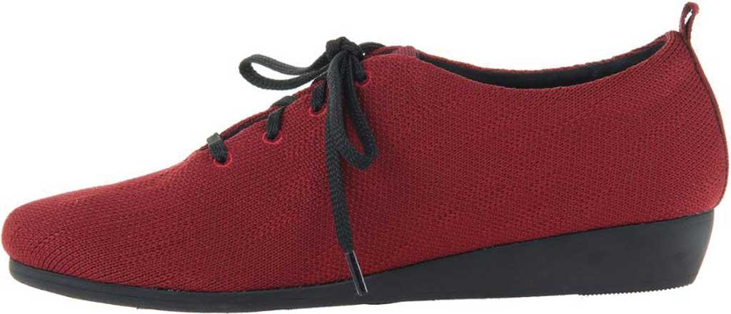 Women's OTBT Wilna Wedge Shoe, Grape Fabric Knit, large, image 3