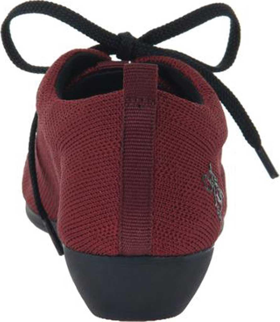 Women's OTBT Wilna Wedge Shoe, Grape Fabric Knit, large, image 4