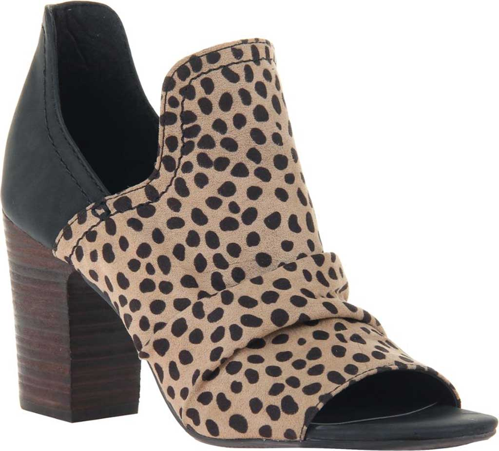 Women's Madeline Fleek Block Heel Shootie, Camel Fabric/Synthetic, large, image 1
