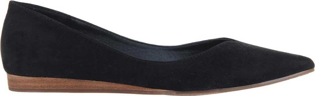 Women's Madeline Dreamlike Pointed Toe Flat, Black Textile, large, image 2