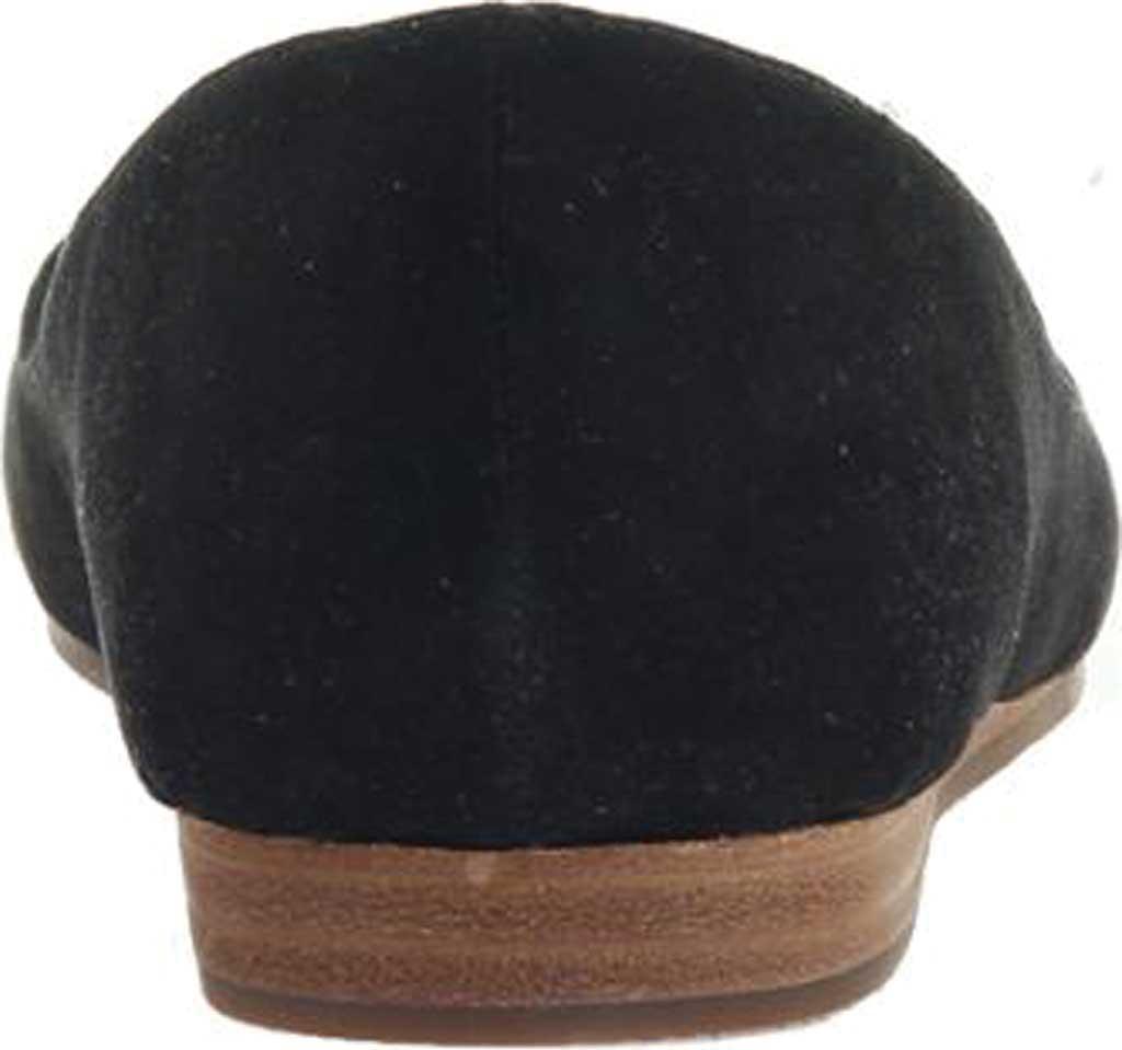 Women's Madeline Dreamlike Pointed Toe Flat, Black Textile, large, image 4