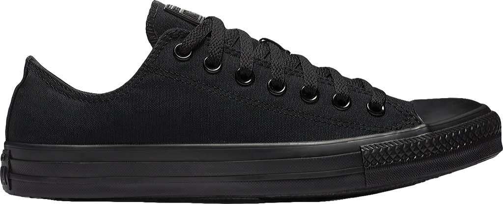 Converse Chuck Taylor All Star Low Sneaker, Black Monochrome, large, image 1
