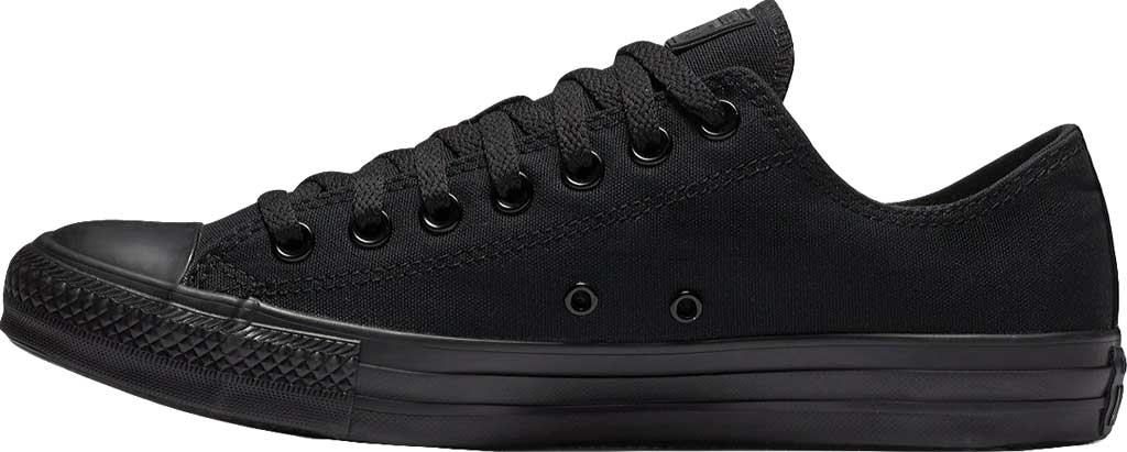 Converse Chuck Taylor All Star Low Sneaker, Black Monochrome, large, image 2