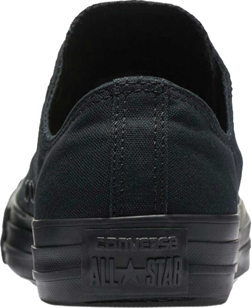 Converse Chuck Taylor All Star Low Sneaker, Black Monochrome, large, image 4