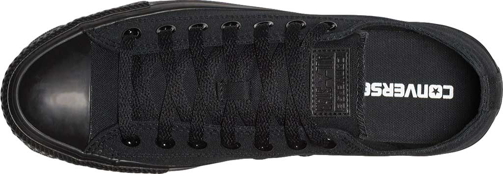 Converse Chuck Taylor All Star Low Sneaker, Black Monochrome, large, image 5