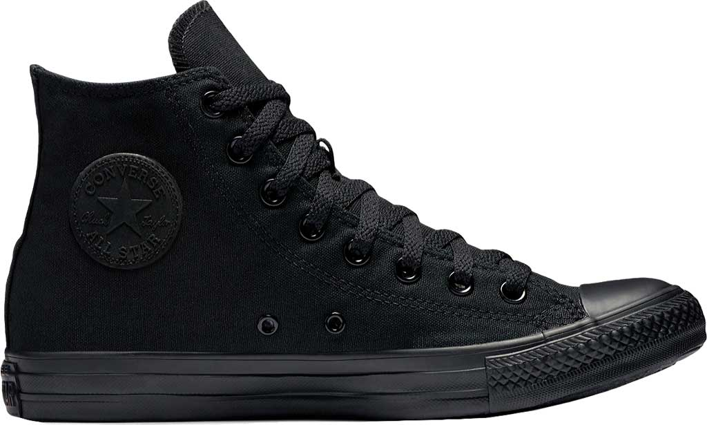 Converse Chuck Taylor All Star High Top Sneaker, Black Monochrome, large, image 1