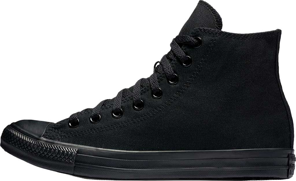 Converse Chuck Taylor All Star High Top Sneaker, Black Monochrome, large, image 2