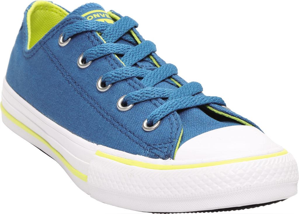 Children's Converse Chuck Taylor Seasonal Canvas Sneaker, Egyptian Blue/Zinc Yellow Canvas/Fabric, large, image 1