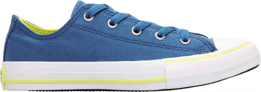 Children's Converse Chuck Taylor Seasonal Canvas Sneaker, Egyptian Blue/Zinc Yellow Canvas/Fabric, large, image 2