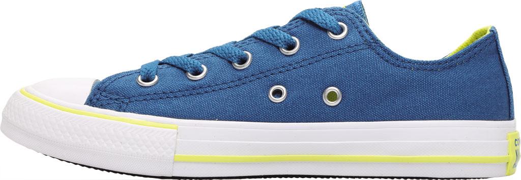 Children's Converse Chuck Taylor Seasonal Canvas Sneaker, Egyptian Blue/Zinc Yellow Canvas/Fabric, large, image 3