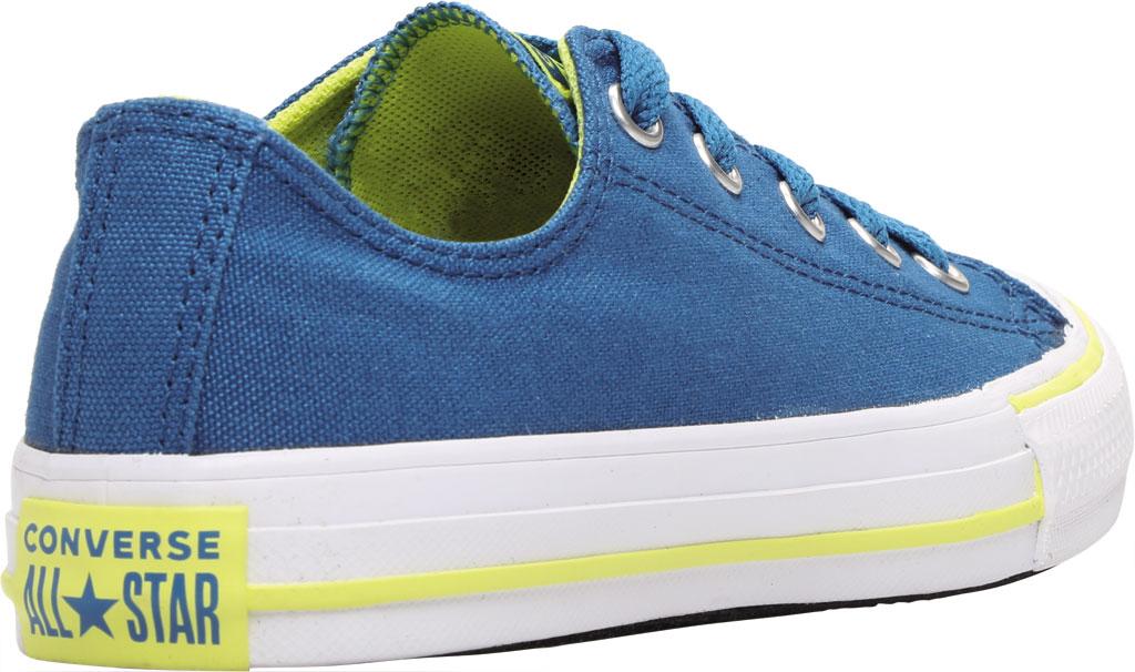 Children's Converse Chuck Taylor Seasonal Canvas Sneaker, Egyptian Blue/Zinc Yellow Canvas/Fabric, large, image 4