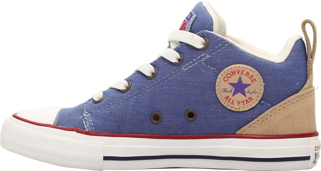 Children's Converse Chuck Taylor Ollie Twill Sneaker, Blue Slate/Court Blue Twill/Fabric, large, image 3