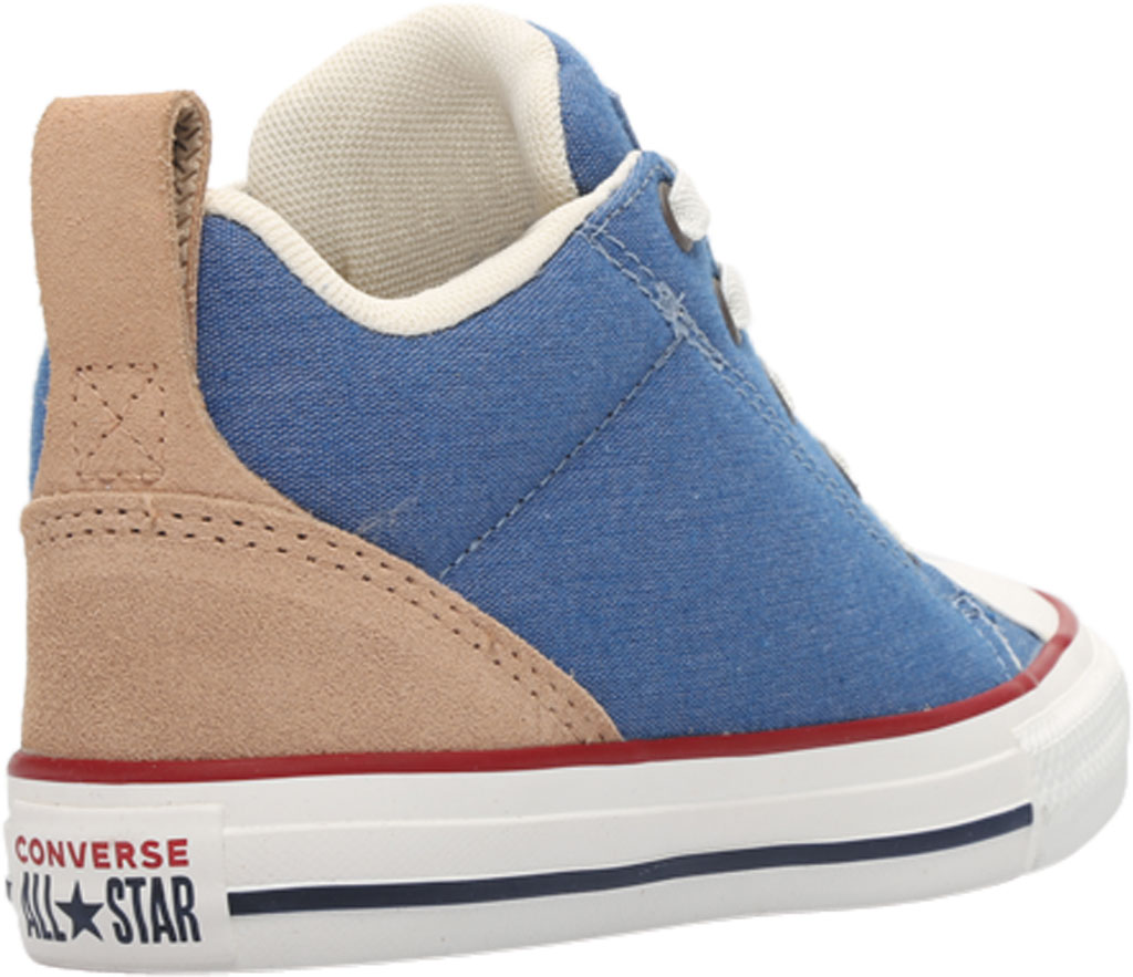 Children's Converse Chuck Taylor Ollie Twill Sneaker, Blue Slate/Court Blue Twill/Fabric, large, image 4