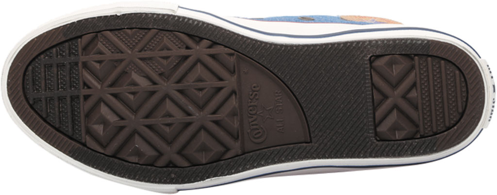 Children's Converse Chuck Taylor Ollie Twill Sneaker, Blue Slate/Court Blue Twill/Fabric, large, image 6