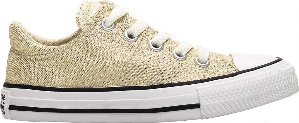 Children's Converse Chuck Taylor Glitter Madison Textile Sneaker, Egret/Orange Calcite Glitter Textile/Fabric, large, image 2
