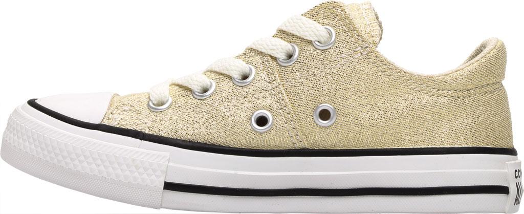 Children's Converse Chuck Taylor Glitter Madison Textile Sneaker, Egret/Orange Calcite Glitter Textile/Fabric, large, image 3