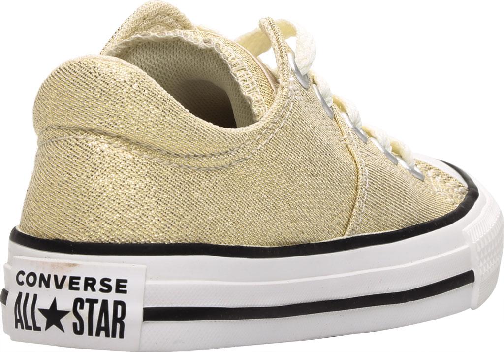 Children's Converse Chuck Taylor Glitter Madison Textile Sneaker, Egret/Orange Calcite Glitter Textile/Fabric, large, image 4