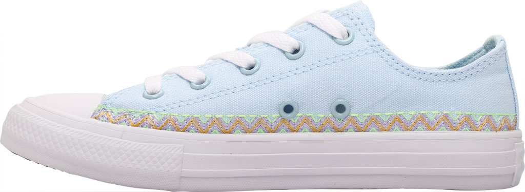 Children's Converse Chuck Taylor Friendship Canvas Sneaker, Agate Blue/Moonstone Violet Canvas/Fabric, large, image 3