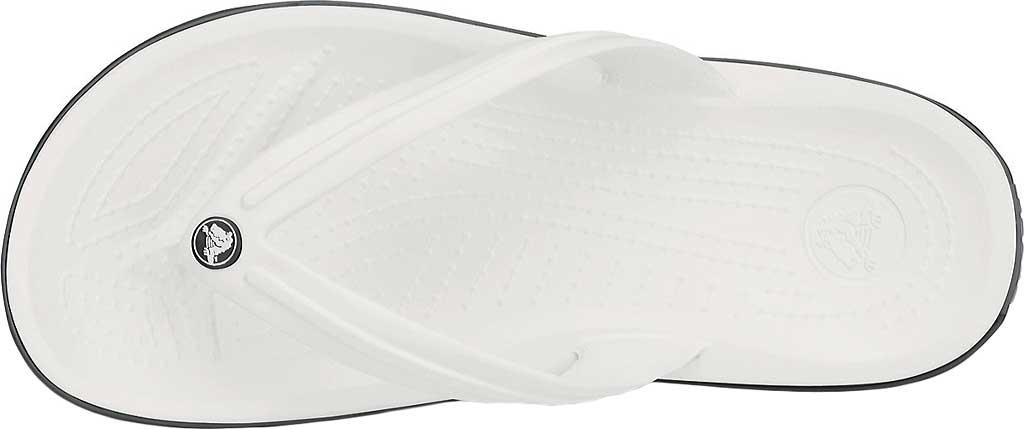 Crocs Crocband Flip Sandal, White, large, image 4