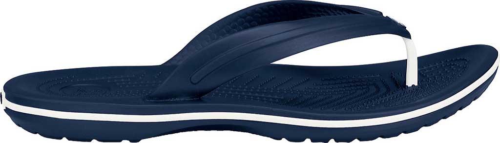 Crocs Crocband Flip Sandal, Navy, large, image 2