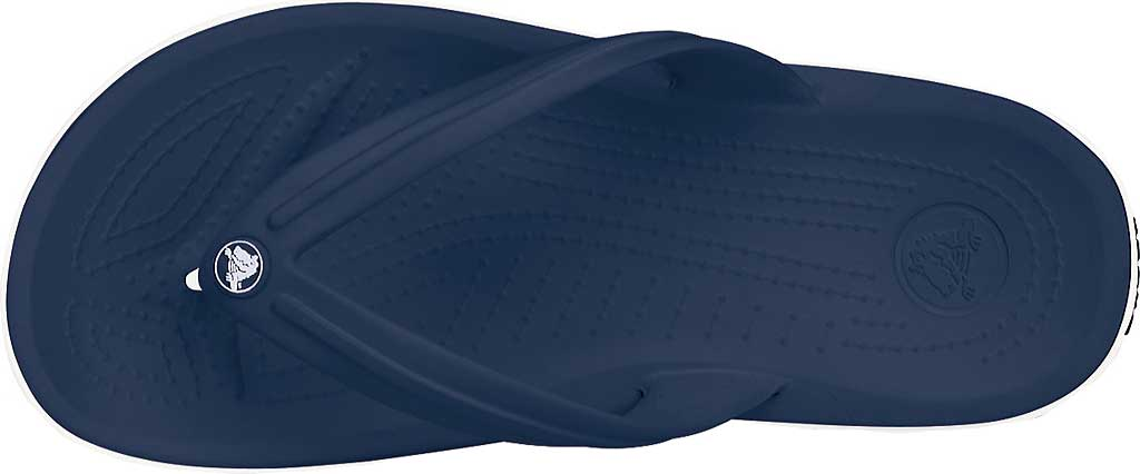 Crocs Crocband Flip Sandal, Navy, large, image 4