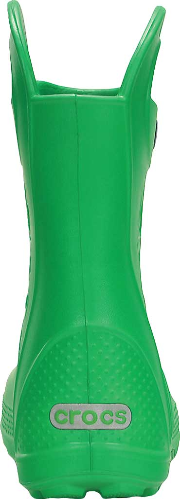 Children's Crocs Handle It Rain Boot Junior, Grass Green, large, image 3