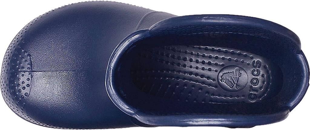 Children's Crocs Handle It Rain Boot Junior, Navy, large, image 4