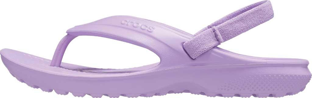 Children's Crocs Classic Flip Flop Sandal Juniors, Orchid, large, image 3