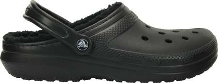 Crocs Classic Lined Clog, Black/Black, large, image 2