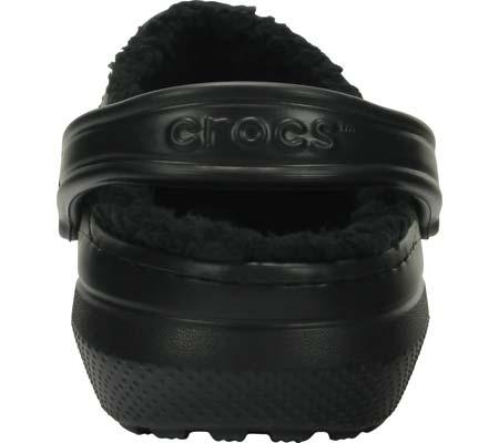 Crocs Classic Lined Clog, Black/Black, large, image 3