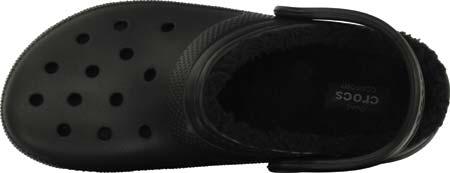 Crocs Classic Lined Clog, Black/Black, large, image 4
