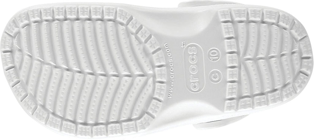 Children's Crocs Kids Classic Clog Juniors, White, large, image 5
