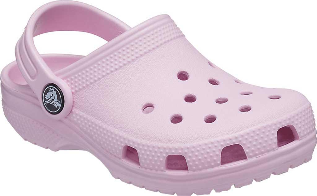 Children's Crocs Kids Classic Clog Juniors, Ballerina Pink, large, image 1