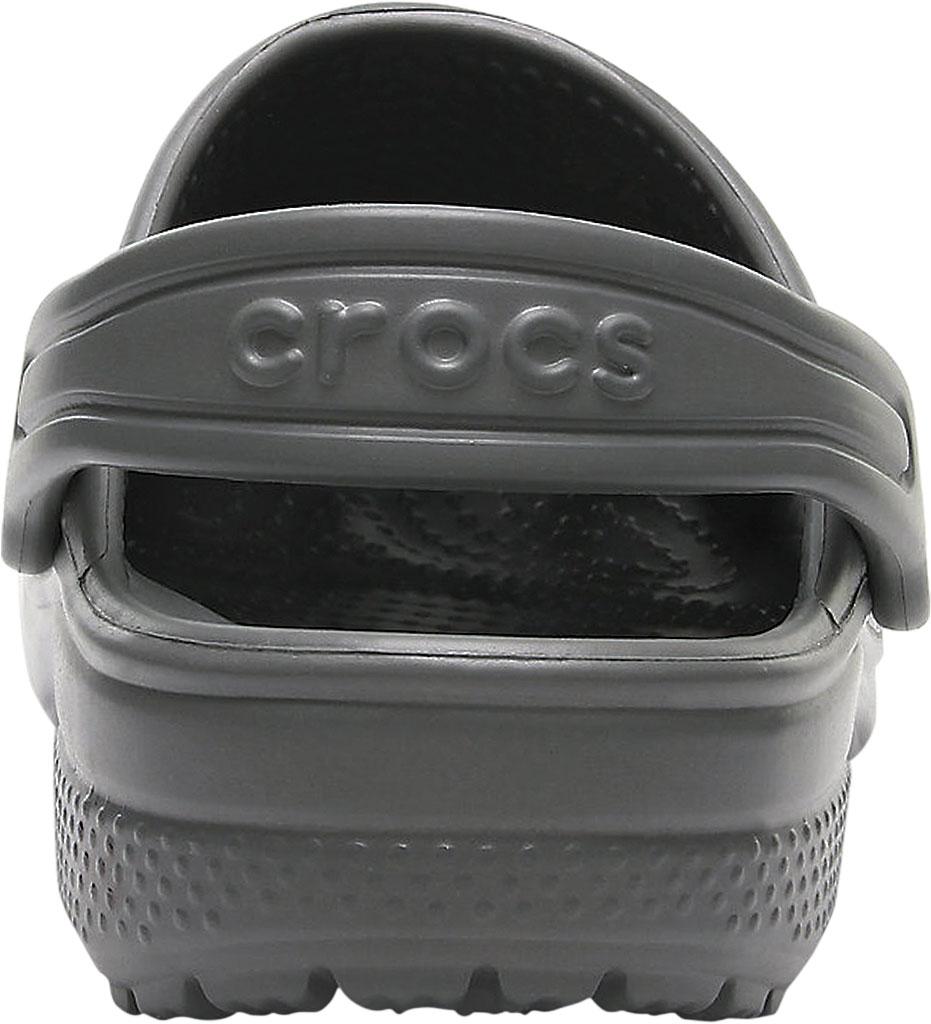 Children's Crocs Kids Classic Clog Juniors, Slate Grey, large, image 3