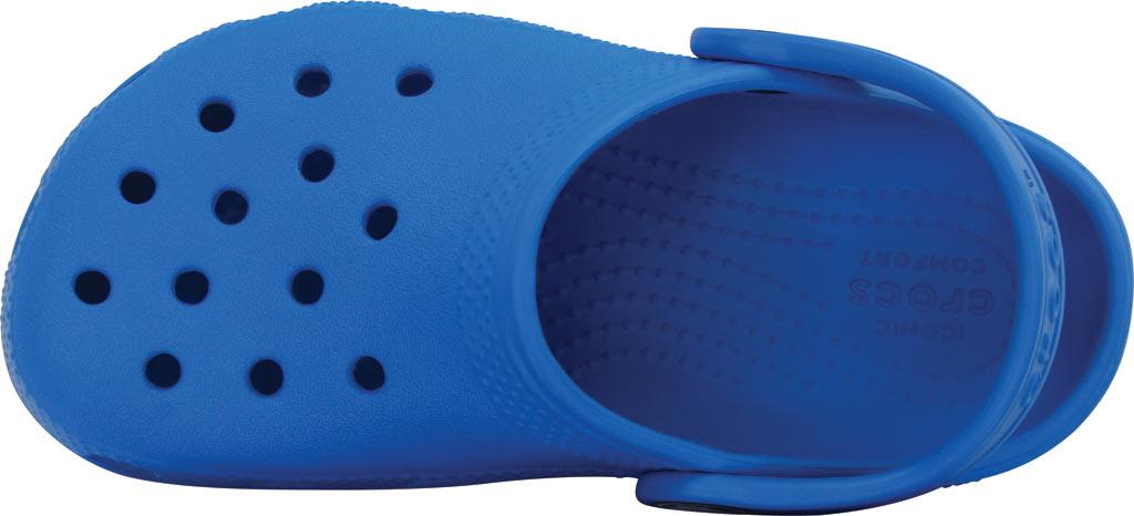 Infant Crocs Kids Classic Clog, Ocean, large, image 4