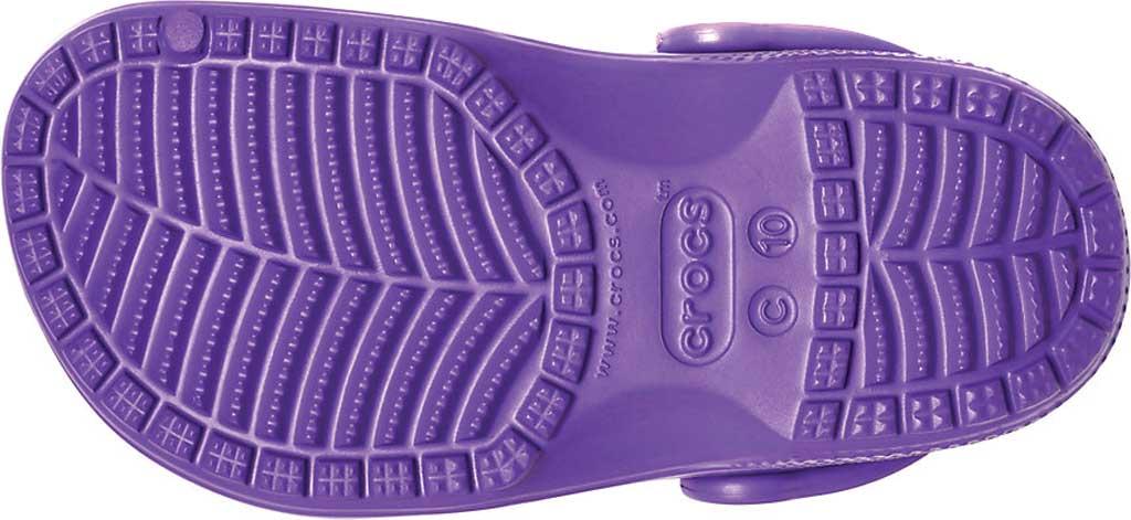 Infant Crocs Kids Classic Clog, Neon Purple, large, image 5