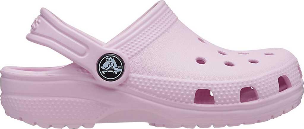 Infant Crocs Kids Classic Clog, Ballerina Pink, large, image 2