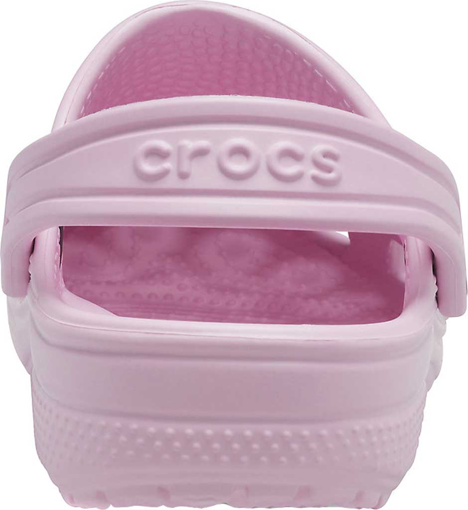 Infant Crocs Kids Classic Clog, Ballerina Pink, large, image 3
