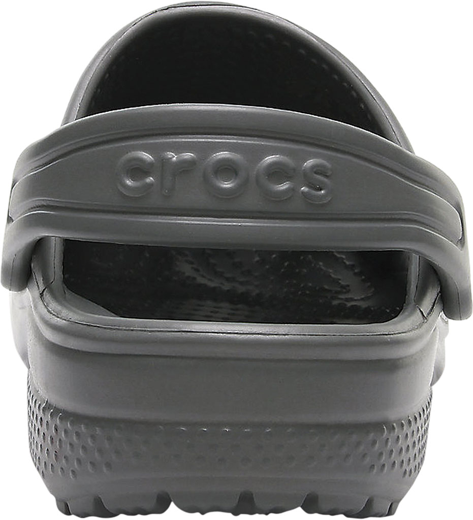 Infant Crocs Kids Classic Clog, Slate Grey, large, image 3