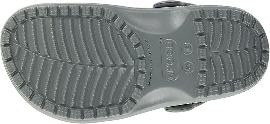 Infant Crocs Kids Classic Clog, Slate Grey, large, image 5
