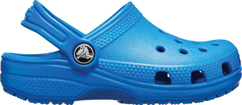 Infant Crocs Kids Classic Clog, Bright Cobalt, large, image 2