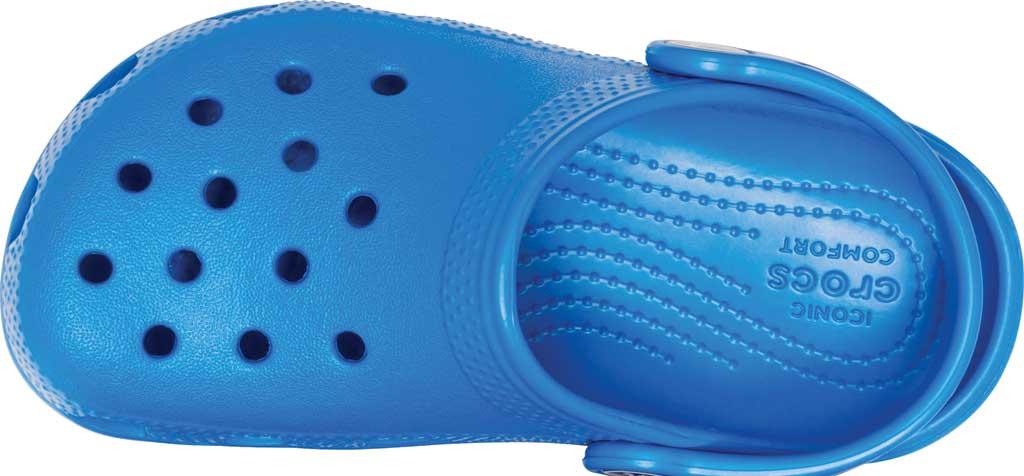 Infant Crocs Kids Classic Clog, Bright Cobalt, large, image 4