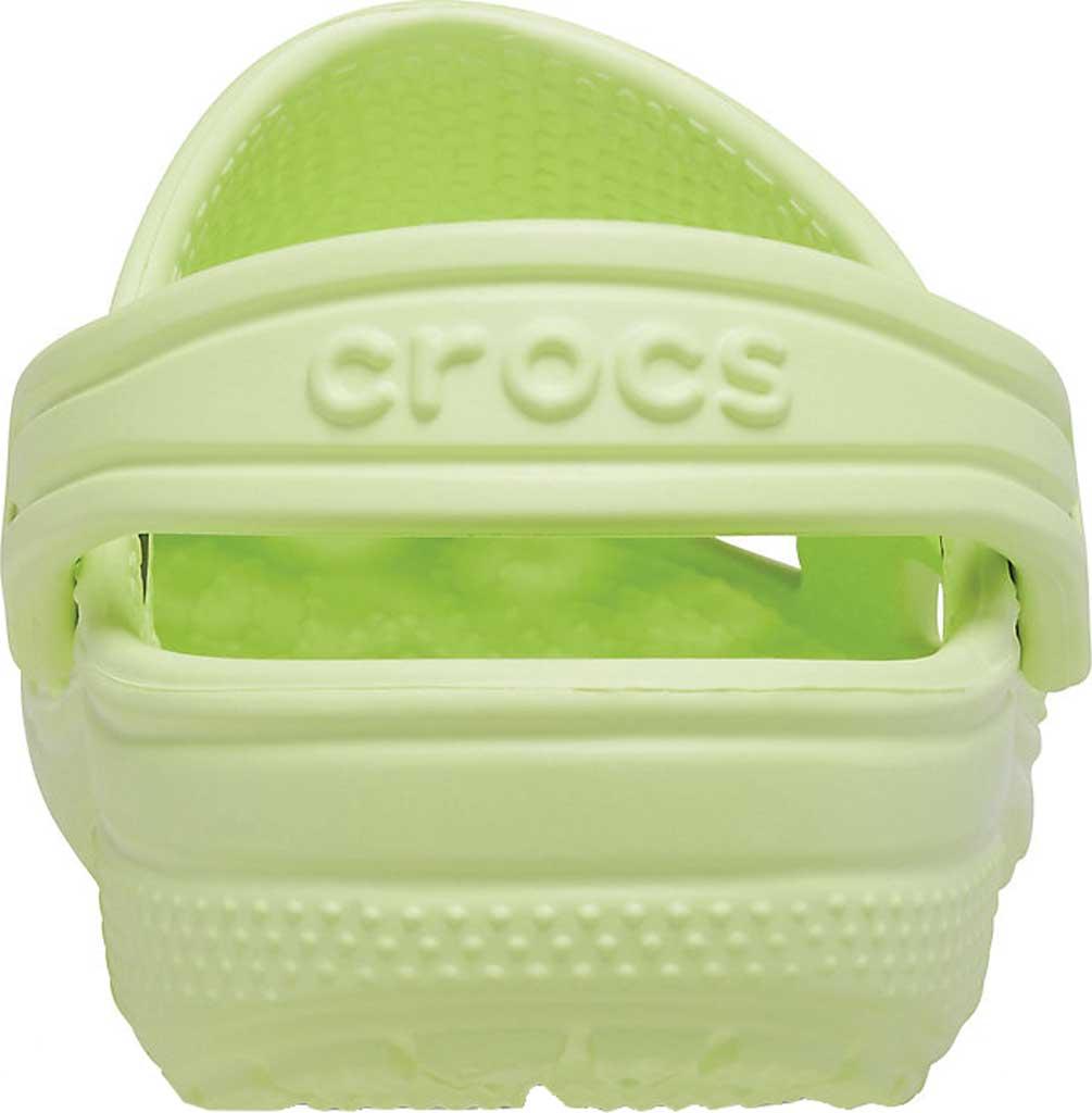 Infant Crocs Kids Classic Clog, Lime Zest, large, image 3