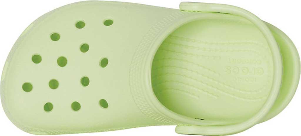 Infant Crocs Kids Classic Clog, Lime Zest, large, image 4