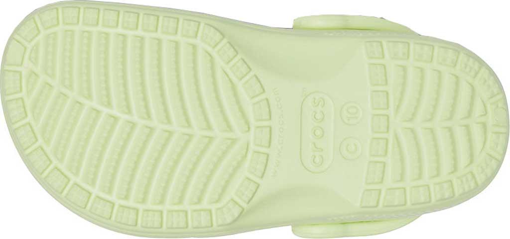 Infant Crocs Kids Classic Clog, Lime Zest, large, image 5