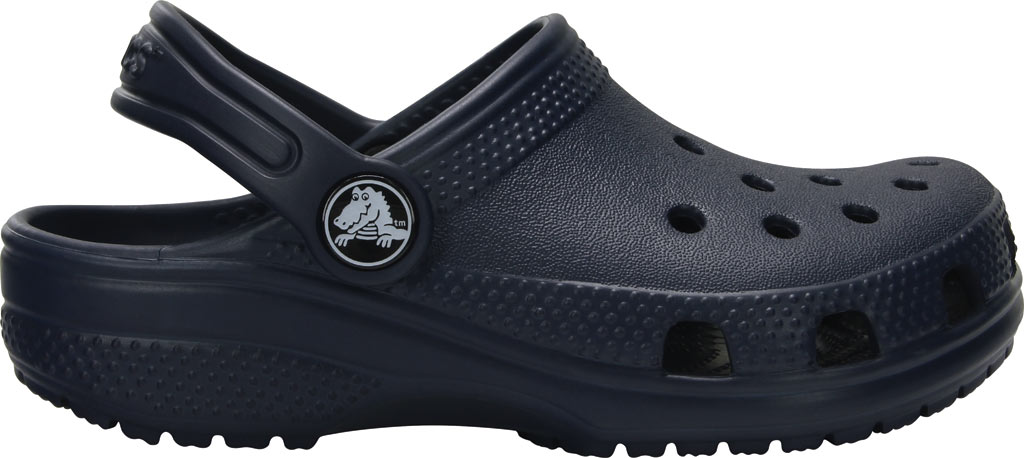 Infant Crocs Kids Classic Clog, Navy, large, image 2