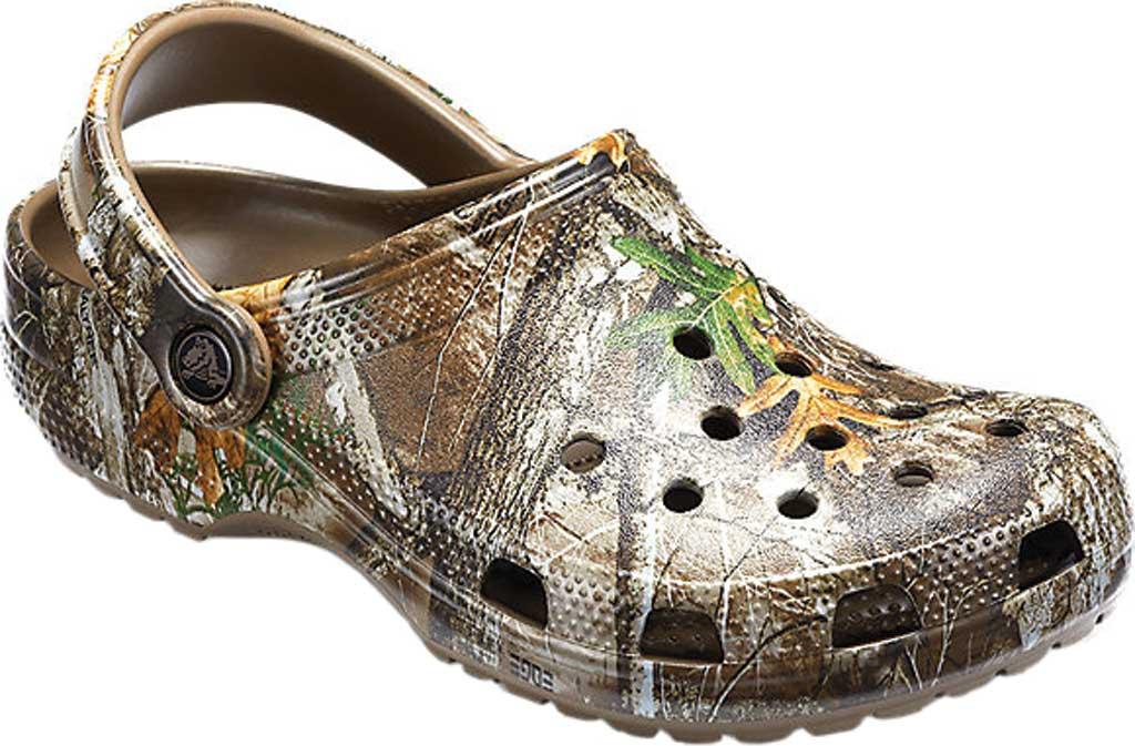 Crocs Classic Realtree Edge Clog, Walnut, large, image 1