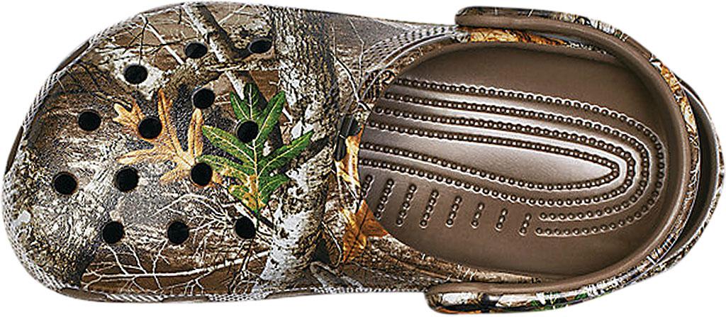Crocs Classic Realtree Edge Clog, Walnut, large, image 4