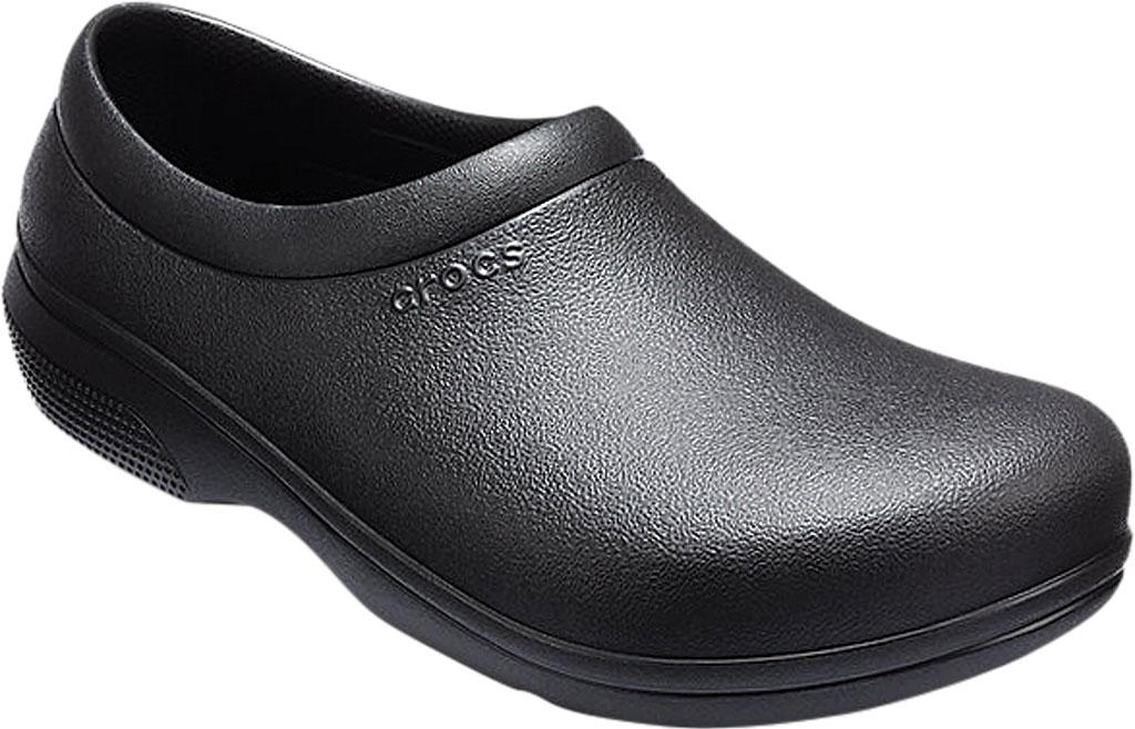 Crocs On-The-Clock Work Slip-On, Black, large, image 1
